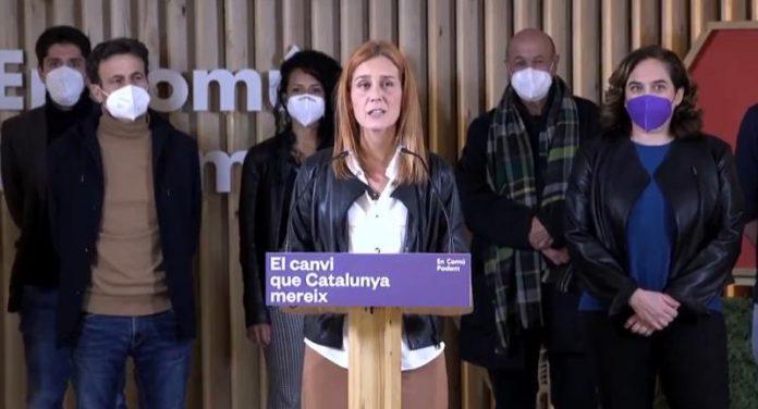 """Jessica Albiach, anunció este domingo que """"mañana mismo"""" llamará a los candidatos del PSC y ERC"""