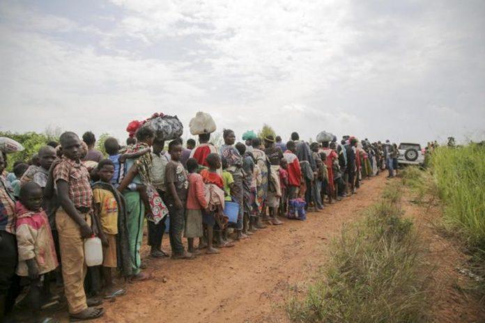 Cada minuto 24 personas huyen de la guerra, la persecución o el terror